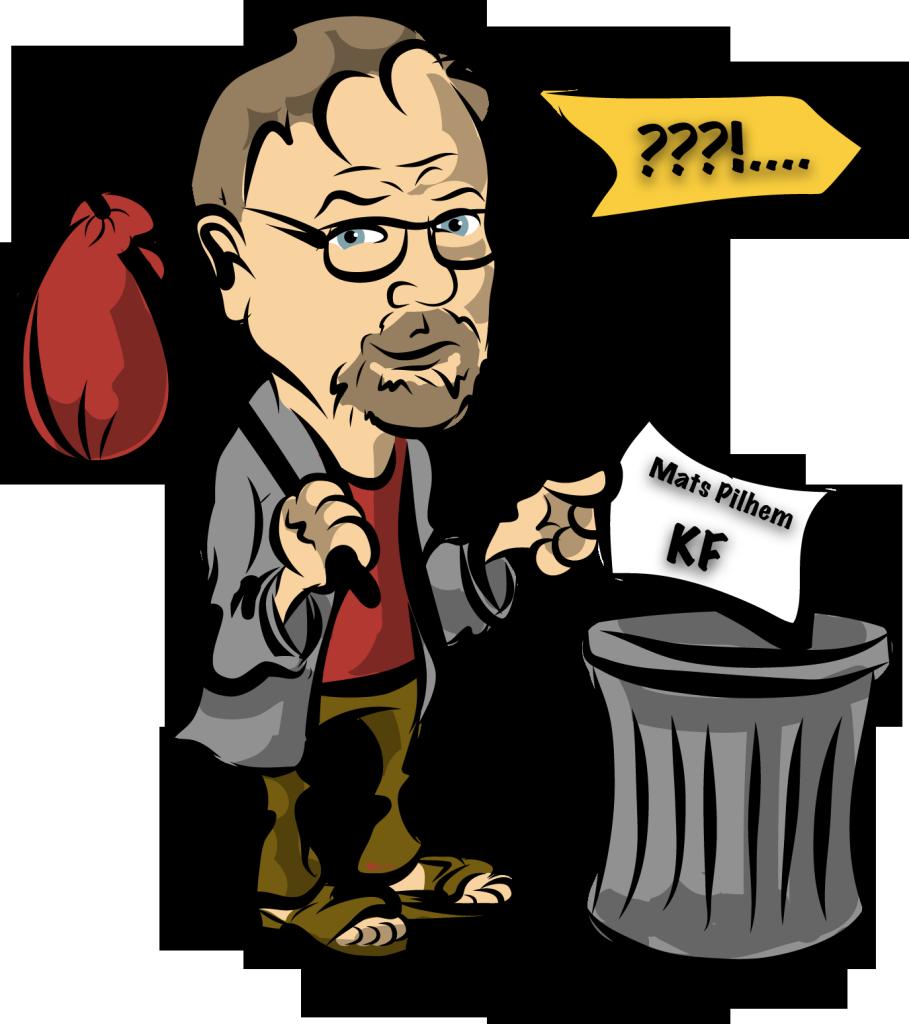 Mats Pilhem lämnar politiken. Bild: Raymond Ståhl