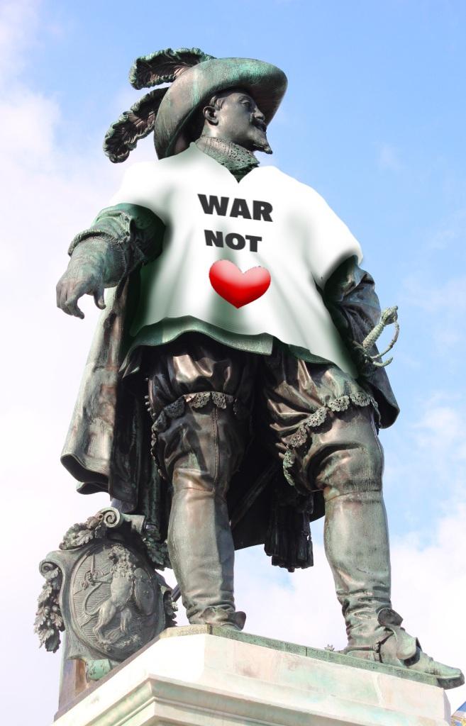 """Gustav Adolf orsakade """"fruktansvärda lidanden"""""""