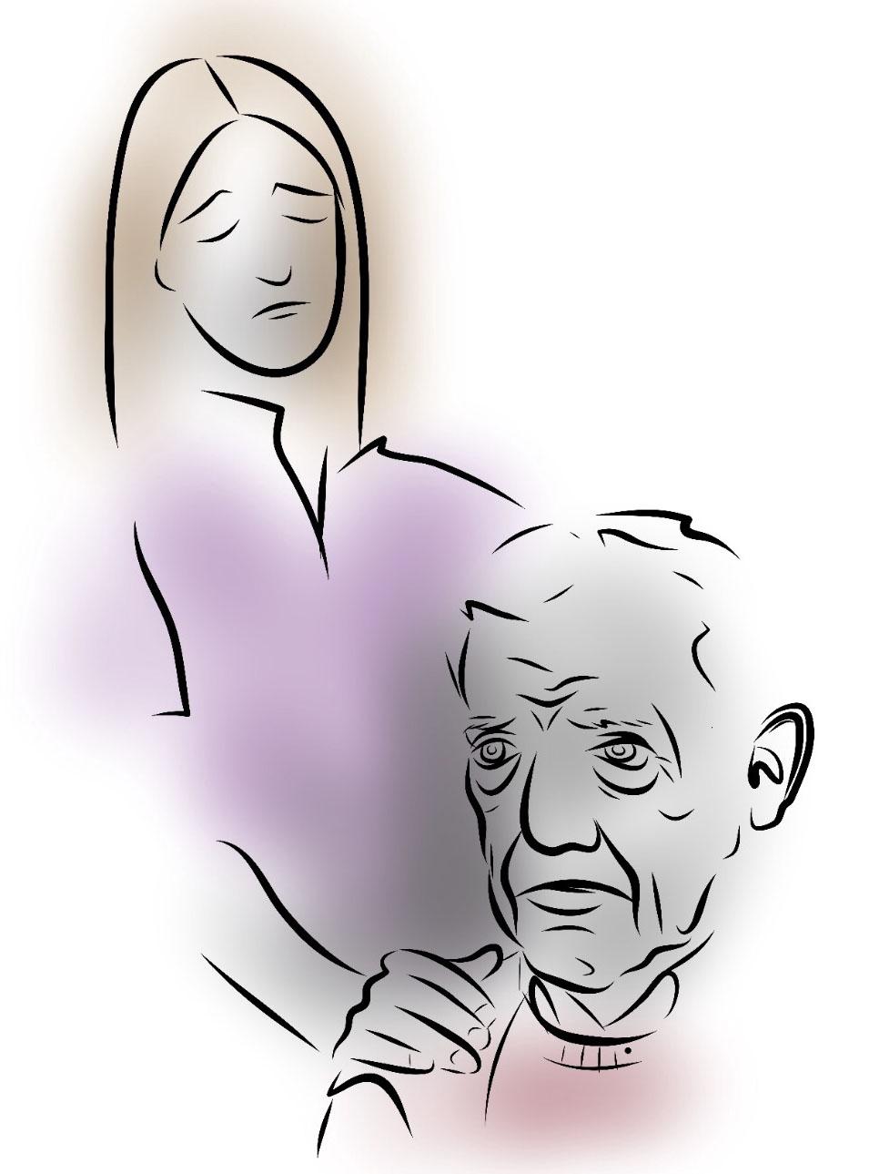 Fackets bild av äldreomsorgen: En svår och stressig miljö