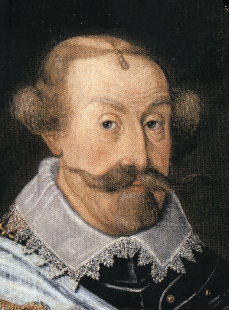 Karl IX i mogen ålder. Lägg märke till hans eleganta sätt att fixa överkamningen på flinten.