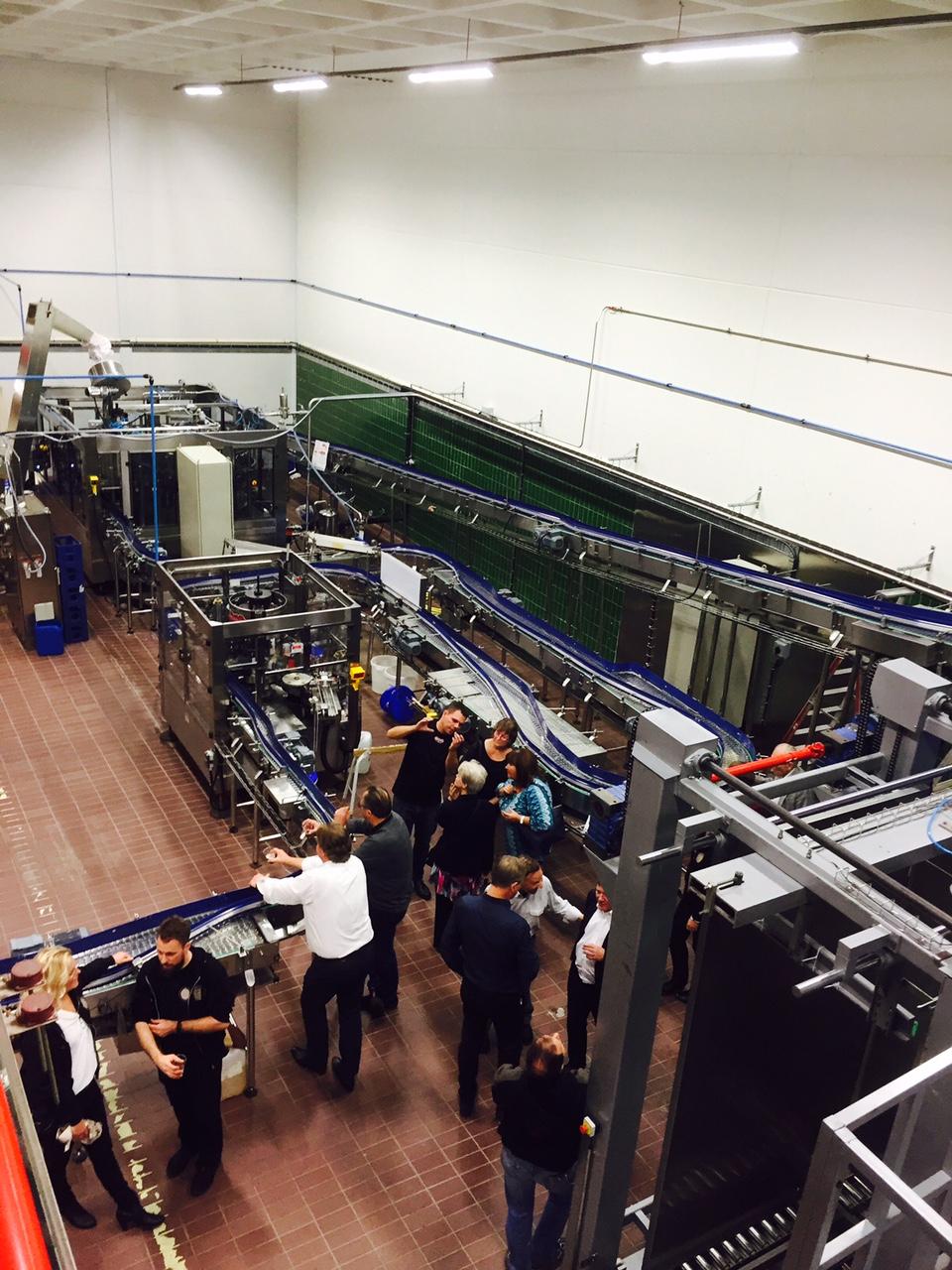 Bryggeriverksamhet igen, i en mindre del av före detta prippsbryggeriet