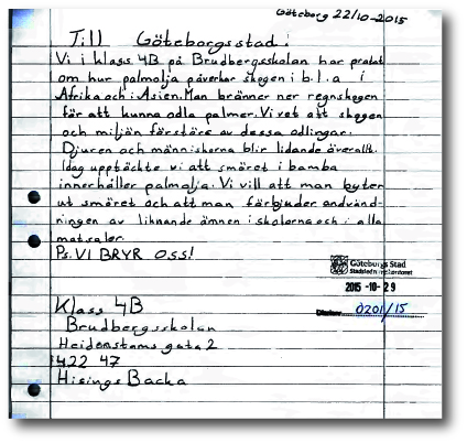 Barnens brev.
