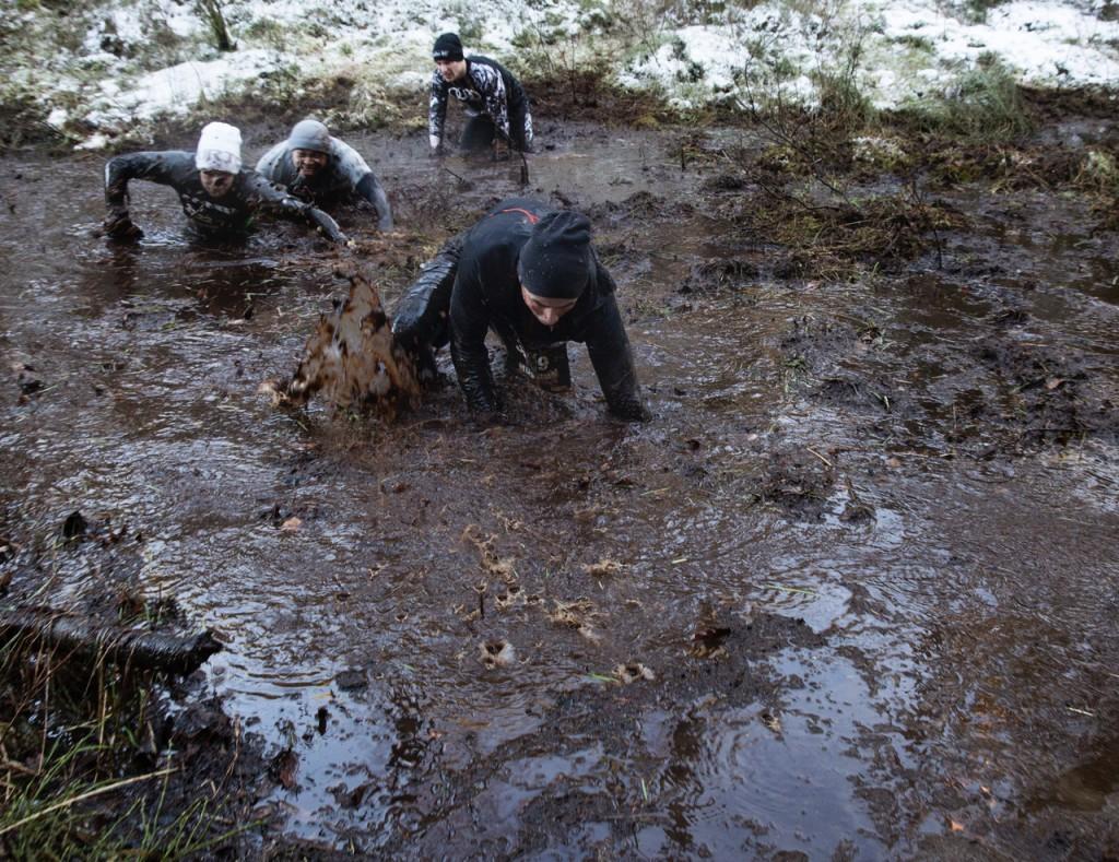 Ingen fick vara rädd för att bli våt om fötterna.
