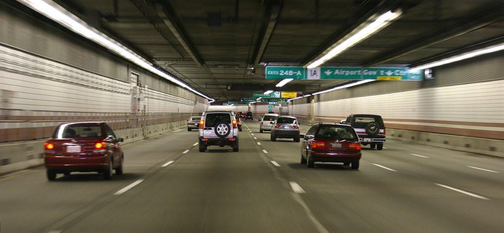 Tunneln löste en del trafikproblem, så här ser den ut i dag.