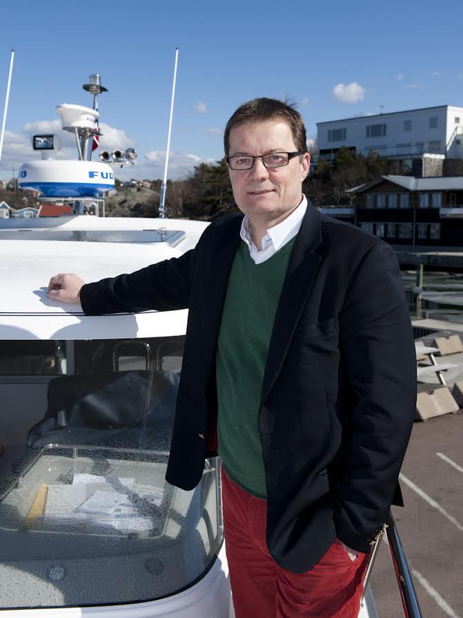 Jan-Erik Lindström, VD för Nimbus Boats, sernya marknader att ge sig in på i sinom tid