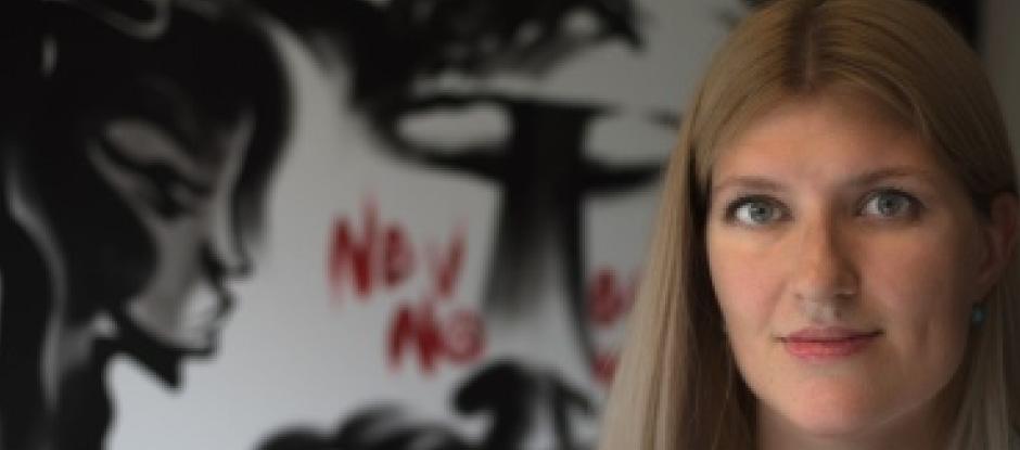 Beatrice Fihn. Foto: ICAN