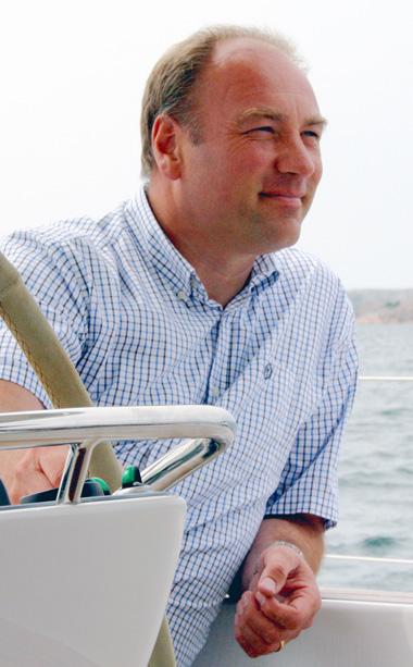 Magnus Rassy, VD Hallberg Rassy
