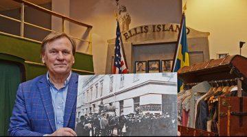 Roger Bodin gläds av möjligheten att Emigranternas hus kan räddas,
