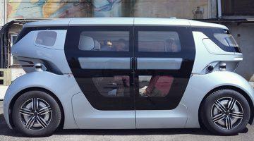 Nevs nya självkörande bil Sango