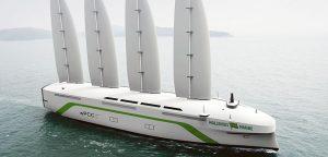 Oceanbird, Wallenius första seglande lastfartyg