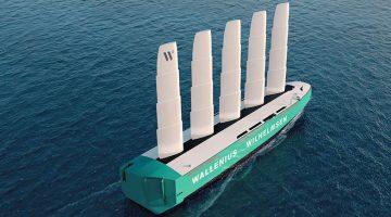 Orcelle Wind nytt seglande lastfartyg