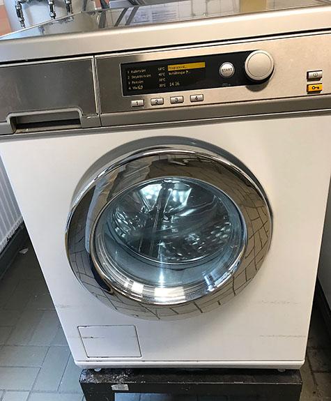 Tvättmaskin i hyresfastighet