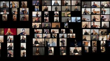 Video med 160 musiker