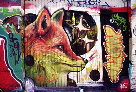 Räven på Kommersens vägg