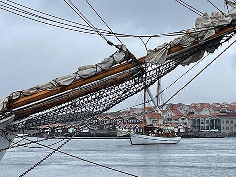 Skutor i Skärhamn