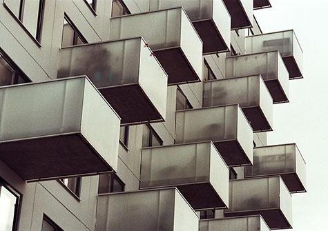 Trånga balkonger